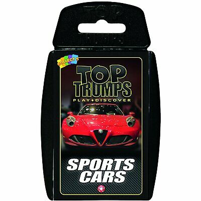 Top Trumps Sports Cars Card Game New Sealed • 4.49£