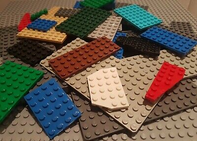 Genuine Lego Base Plate Building Base Board Strips Bases In Mixed Colors • 9.87£