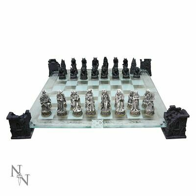 High Quality Vampire And Werewolf Chess Set Fantasy Gift Board Game Gothic  • 59.99£