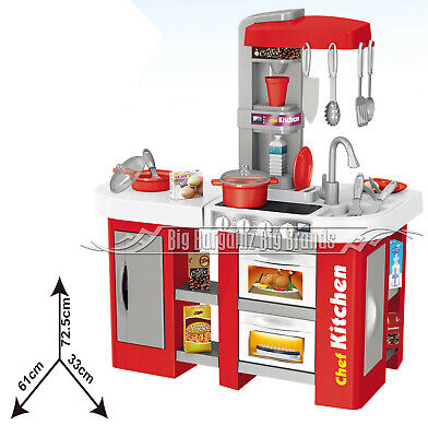 Talented Chef Kitchen 53pcs. Toy Running Water, Sounds & Lights Role Play NEW • 34.19£