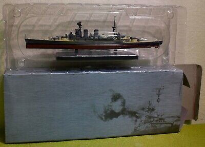 ATLAS EDITIONS COLLECTIONS DeAGOSTINI 1:1250 SCALE HMS HOOD  • 19.99£