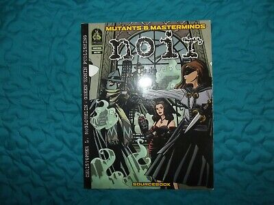 Mutants & Masterminds-noir Sourcebook Grr 2011 • 20£
