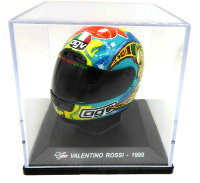 Altaya 1/5 Scale  Model Helmet - MotoGP Valentino Rossi 1999 World Champion • 11.99£