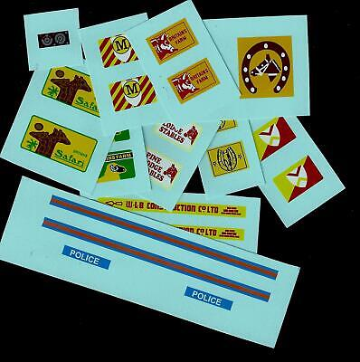 Britains Toys Transfers/decals - Land Rover • 2.50£