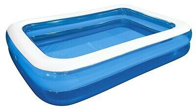 Giant Rectangular Pool Big Paddling Inflatable Family Summer Outdoor Kids • 29.79£
