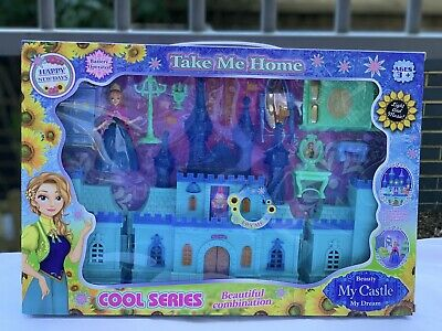 Princess Musical Castle Play Set With Music Great Xmas Gift • 13.99£