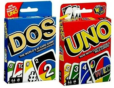 UNO Card Game 112 CARDS Great Family FUN Travel Party Game UK Seller FAST POST • 6.49£