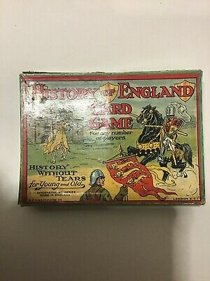 Vintage History Of England Card Game • 15£