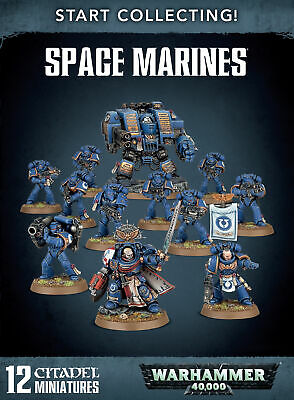 Start Collecting! Space Marines • 50£