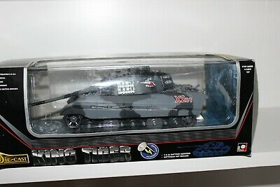 New-ray Battery Operated 1:32 Die Cast Metal King Tiger Tank New Boxed • 49£