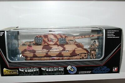 New Toy Mark Diecast Battery Operated King Tiger Tank 1:32 Scale • 55£