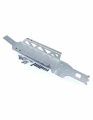 Rovan Full Silver 1-Piece Frame, Chassis Kit 1/5th RC KM HPI • 109.99£