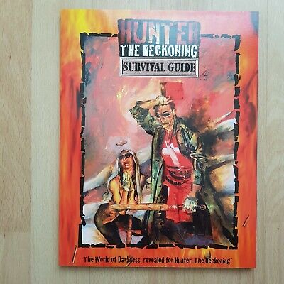 Survival Guide Hunter The Reckoning White Wolf World Of Darkness Rpg Roleplaying • 22.99£