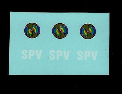 Dinky 104 Spectrum Pursuit Vehicle Transfers / Decals • 2.50£