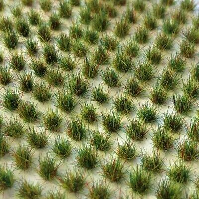312 X Mini Static Grass Tufts (2mm, 4mm, 6mm - Various Colours) • 3.70£