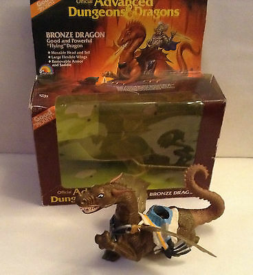 BRONZE DRAGON ADVANCED DUNGEONS AND DRAGONS Action Figures LJN 1983 BOXED ADV • 60£