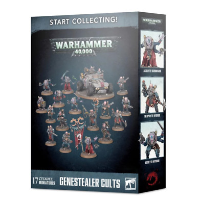Start Collecting! Genestealer Cults Warhammer 40K • 60£