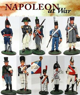 Del Prado Napoleon At War Soldiers & Leaders Of Napoleonic Wars CHOOSE FIGURE • 7.99£