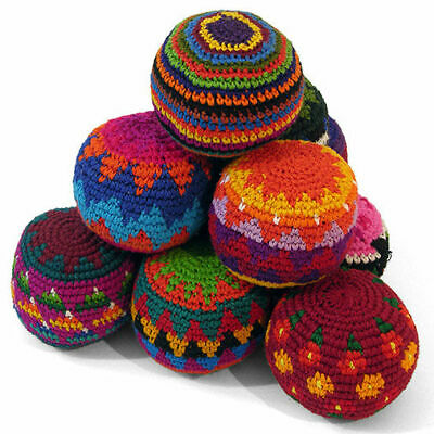 Set Of 3 Crochet Haki Sacks / Juggling Balls • 10.50£
