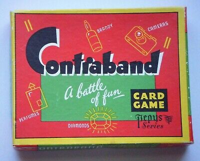 Vintage Contraband Card Game By Pepys • 24.99£