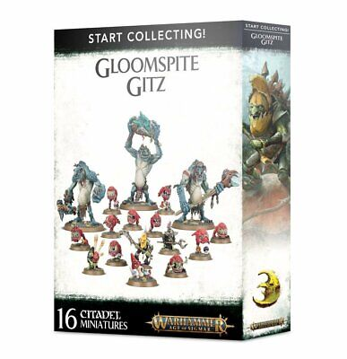 Start Collecting Gloomspite Gitz Warhammer Age Of Sigmar • 60£