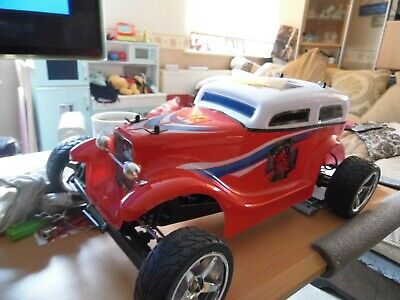 Rare Ansmann Racing Hot Rod 1/10th Scale Rolling Chassis  • 110£