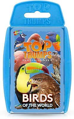Top Trumps Birds Of The World Card Game • 4.89£