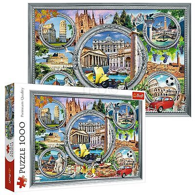 Trefl 1000 Piece Adult Large Famous Monuments In Italy Holiday Jigsaw Puzzle NEW • 7.99£