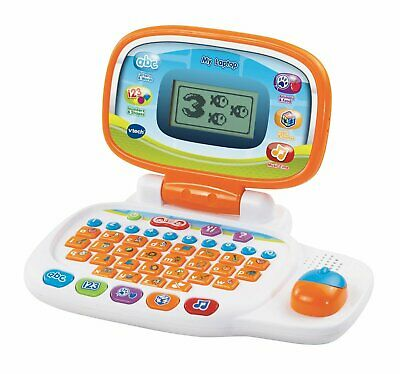 Vtech Interactive Laptop Toy Kids Learning Computer 30-Fun Activities Sound New • 19.94£