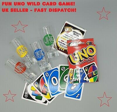 UNO Drinking Game ⭐  Drunk Uno ⭐ Night In Party Fun ⭐ Card Game - FAST DELIVERY! • 11.99£