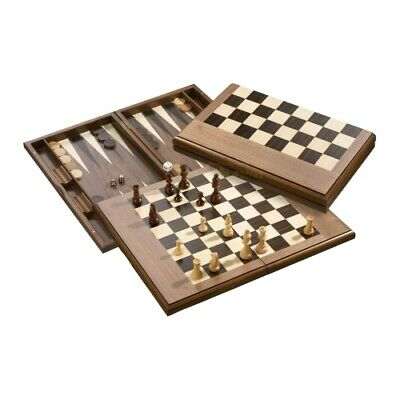 Exclusive Chess-Backgammon-Draughts-Set - With Magnetic Closure • 104.36£