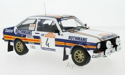 IXO 18RMC037A Or 18RMC037B FORD ESCORT Rally Car Rothmans Vatanen Mikkola 1:18th • 89.46£
