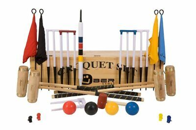Uber Executive Croquet Set In A Wooden Box (UK) • 369.90£