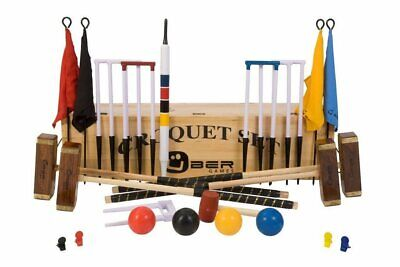 Uber Championship Croquet Set In A Wooden Box • 429.90£