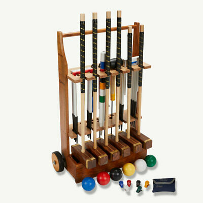 Uber Championship 6 Player Croquet Set With A Stand (UK) • 499.90£