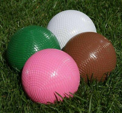 Set Of Townsend/Hurlingham Croquet Balls (16oz, Full Size, 2nd Colours) • 107.99£