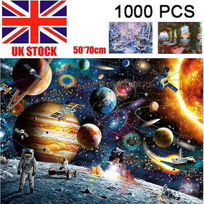 1000 Pieces Jigsaw Puzzles Educational Toys Space Stars Educational Puzzle Toys@ • 14.79£
