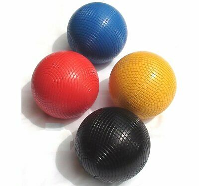 Set Of 12oz Composition Croquet Balls (1st Colours) • 86.99£