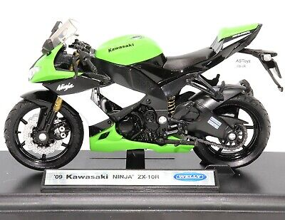 Kawasaki Motorcycle Collection 1:18 Scale Die-cast Model Toy CHOOSE YOUR BIKE  • 11.99£