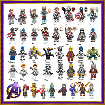 Marvel Avengers Custom Lego Superhero Mini Figures Minifigure Star Wars Iron Man • 0.99£