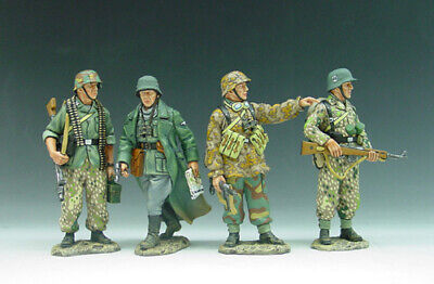 King And Country Wss050 Ws050 Foot Patrol  - 1:30 Scale German Forces Wwii • 159.99£