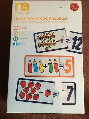 Mothercare Basic Maths Puzzle • 5£
