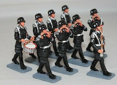 King And Country Lah032 Lah32 - Fife & Drum Band  - Leibstandarte 1:30 Scale • 349.99£