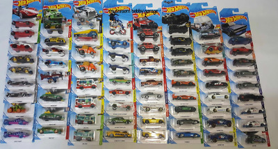 Hot Wheels Bundle Job Lot Of 10 NEW CARS From 2020 - Cars Toys For Kids • 12£