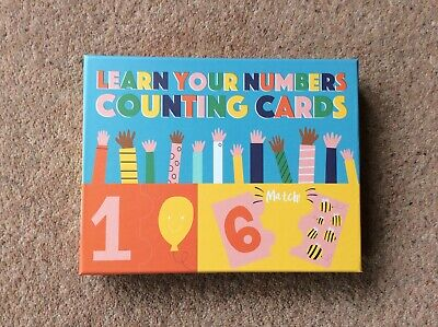 Rex London Learn Your Numbers Counting Cards BNWB • 6.99£