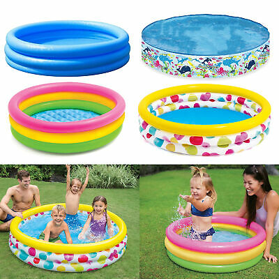 Kids Swimming Pool | Childrens Paddling Pool | Toddler Outdoor Inflatable Pool • 4.95£