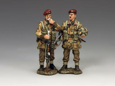 King And Country Mg062(p) - Mg62(p) - The Ambushers 1:30 Scale Wwii Arnhem • 119.99£