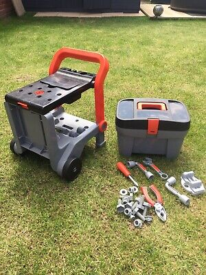 Smoby Workmate With Tool Box And Tools. Rrp 70 Pounds • 25£