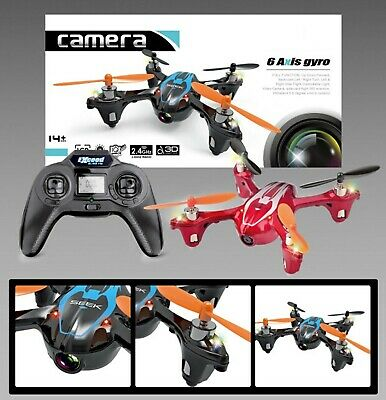 RC Drone FQ777 AF910 Quadcopter HD Camera 2.4G 4CH Red P06 • 14.93£