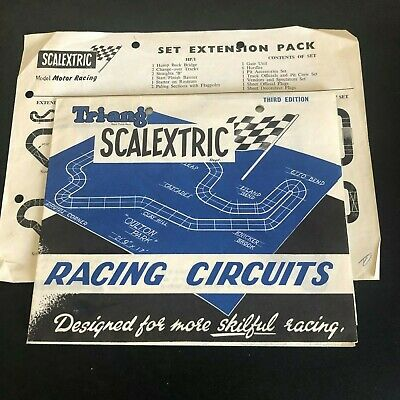 Scalextric 1960's Racing Circuits Leaflet • 25£